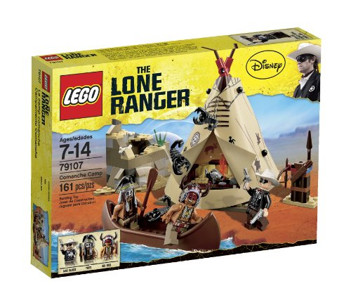 Indian American Native Teepee (LEGO The Lone Ranger Comanche Camp (79107))