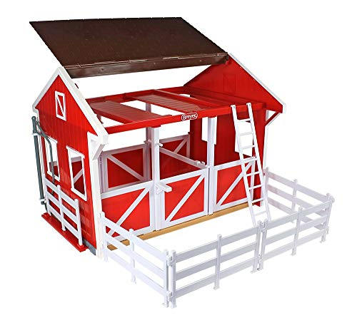 """Breyer Freedom Series (Classics) Spring Creek Horse Stable Set 