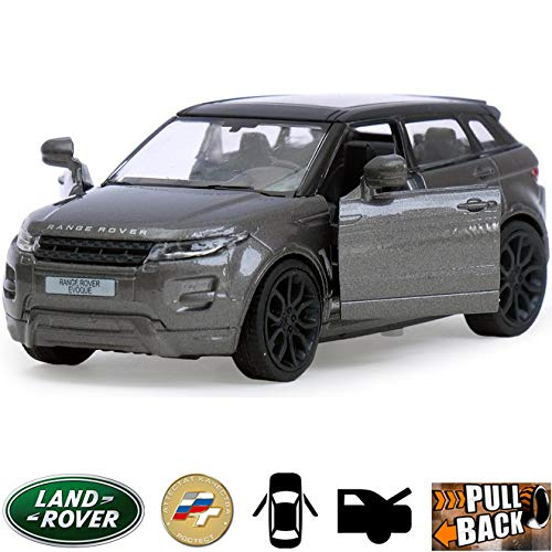 Diecast Metal Model Car Land Rover Range Rover Evoque Gray Toy Die-cast Cars (Range Rover Evoque Toy)