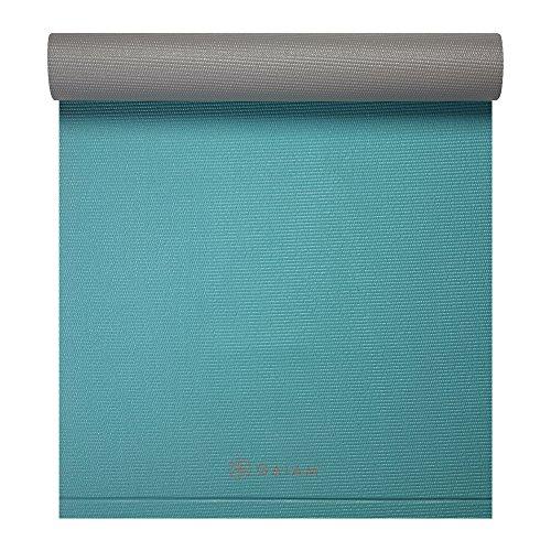 Gaiam Easy Roll Yoga Mat Viridian Green 6mm Yoga Mats