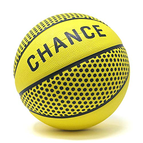 College Basketball Scoreboard - Chance Premium Rubber Outdoor/Indoor Basketball Ball - Size 5 Kids & Youth, 6 WNBA Womens, 7 Mens NCAA & Official NBA Basketball Sizes (7 Men's Official - 29.5