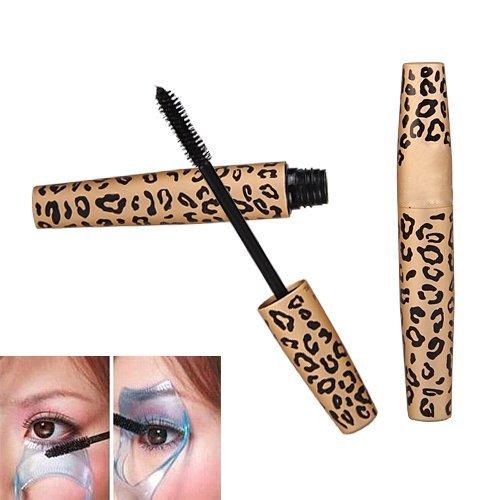 Kit 2 Mascara de Pestañas Rimel en Negro X6 Volumen Envase Leopardo: Amazon.es: Hogar