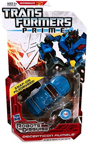 Transformers Prime Robots in Disguise Deluxe Class Decepticon Rumble -