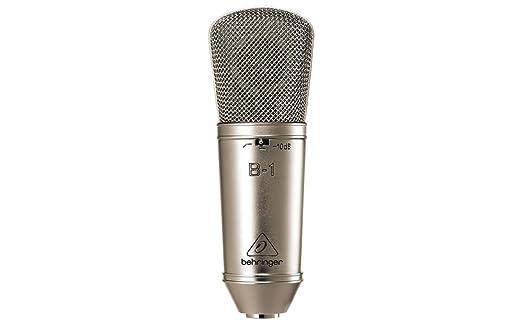 18 opinioni per Behringer B-1 microfono a condensatore cardioide + valigetta karaoke live