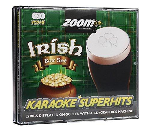 Zoom Karaoke CD+G - Irish Superhits - Triple CD+G Karaoke Pack ()