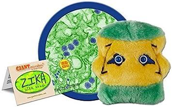GIANTmicrobes Zika (Zika Virus) Plush Toy by Giant Microbes: Amazon.es: Juguetes y juegos