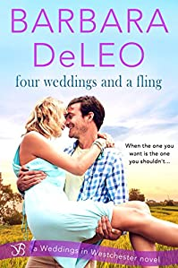 Four Weddings And A Fling by Barbara DeLeo ebook deal