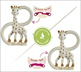 Vulli SoPure Teether Duet, Sophie the Giraffe