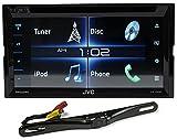 JVC KW-V320BT 6. 2' 2-Din Car DVD Player w/USB/Bluetooth/iPhone/Android/iDatalink