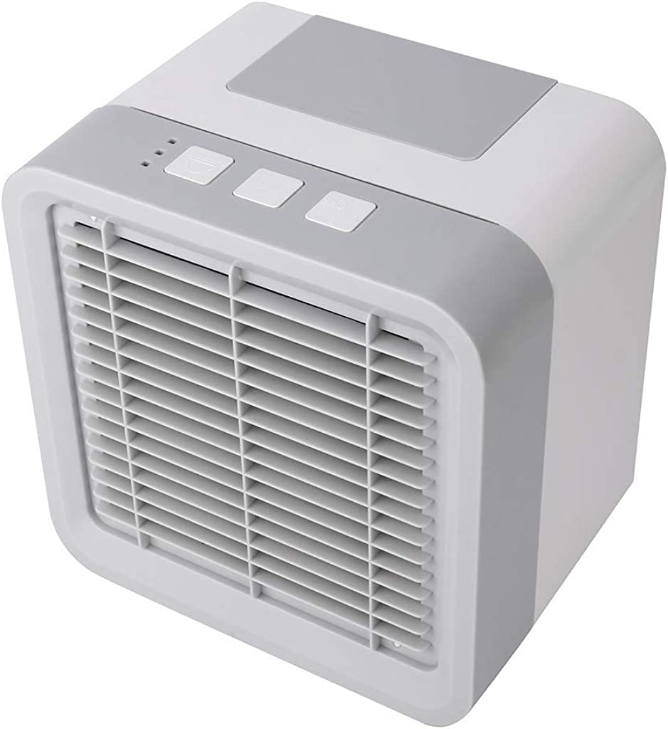 shamrock58 Mini Air Conditioning Conditioner Cool Fan Portable Home Office Desk Cooler Color-Cycle
