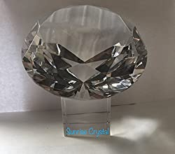 Crystal Diamond Shaped Centerpieces Decorations
