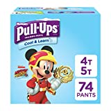 Pull-Ups Cool & Learn Potty Training Pants for Boys, 4T-5T (38-50 lb.), 74 Ct. (Packaging May Vary): more info
