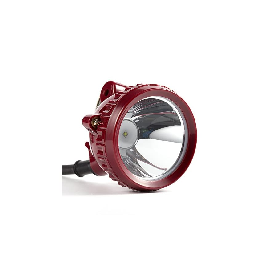 Kohree KL6LM 5W 25000Lux LED Miner Head Light Headlight Lamp Fit for Hog/Deer/Coon/Coyote Hunting, Mining, Camping