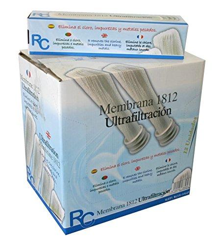 RC BOX-MUF Membrana Equipo Ultrafiltración Set de 12 Piezas: Amazon.es: Bricolaje y herramientas
