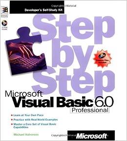 Microsoft Visual Basic Professional 6 0 Step by Step