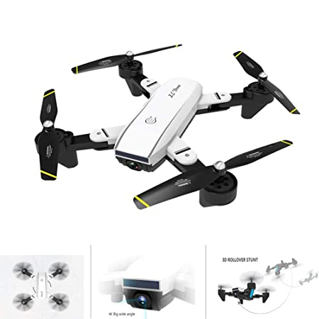 Ur HQCC Drone FPV Plegable, Quadcopter RC con La Cámara 720P ...