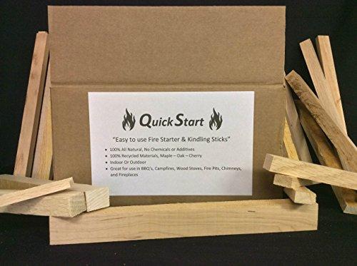 Top Chop Butcher Block QS-10 Quick Start Fire Starter & Kindling Sticks, 10 lb, Maple (Quick Start Fire Starter compare prices)