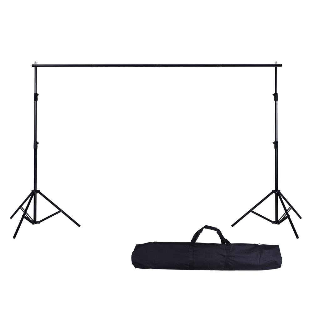 AW 10ft Adjustable Photography Background Support Stand Portable Photo Backdrop Crossbar Kit with Carrying Bag by AW (Image #5)