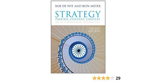 Strategy: Process, Content, Context: Amazon.es: Meyer, Ron ...