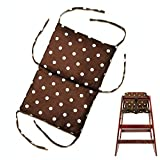 ZARPMA Baby High Chair Seat Cushion, Restaurant High Chair Cover Protective Insert Mat Pad(Not Include High Chair)