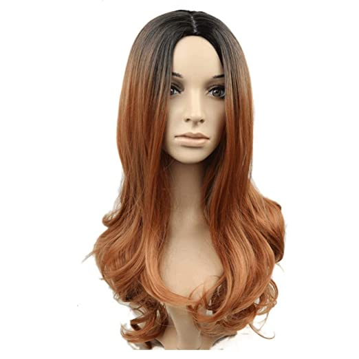 Mittellanges lockiges haar