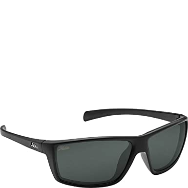 ea1c1d7984 Hobie Eyewear Topanga Sunglasses (Satin Black Frame Grey Polarized Pc Lens)