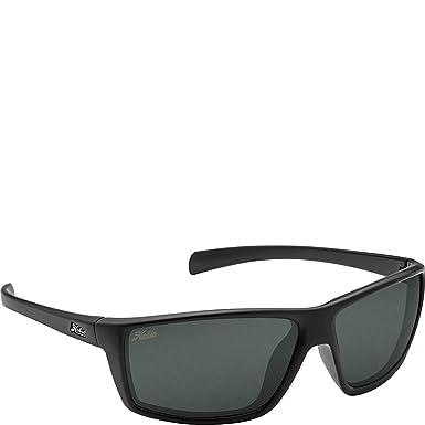 d2f795bc3a Hobie Eyewear Topanga Sunglasses (Satin Black Frame Grey Polarized Pc Lens)