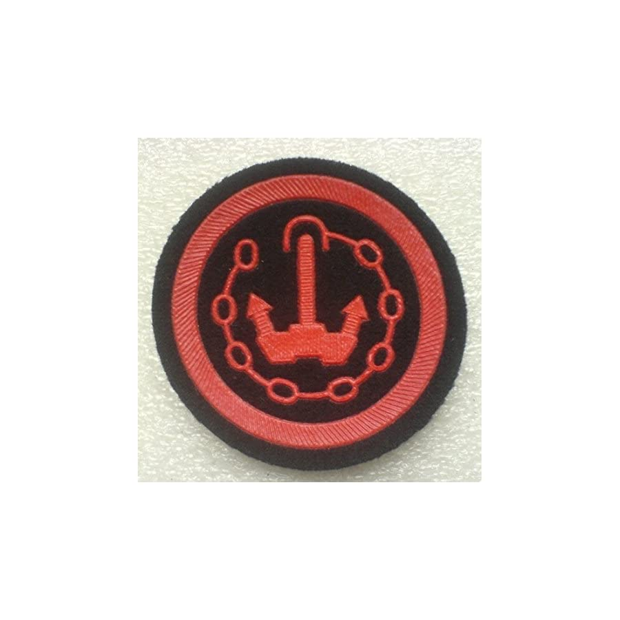 Specialist of all kinds of security software and services patch USSR Soviet Union Russian NAVY Military Uniform Cold War Era Type 2