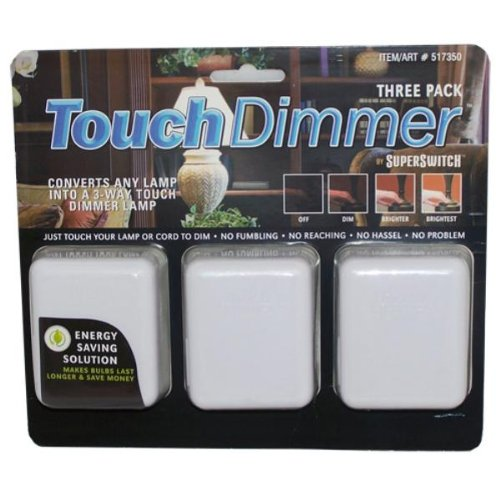 Super Switch Touch Dimmer 3 Pack