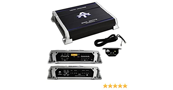 Amazon.com: New Autotek MMA2000.1D 2000 Watt Mono Class D Amplifier Mean Machine Car Amp: Car Electronics