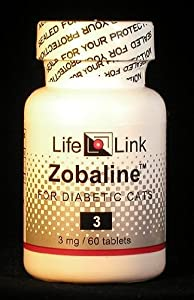Zobaline™ (for Diabetic Cats) 3 mg x 60 tabs