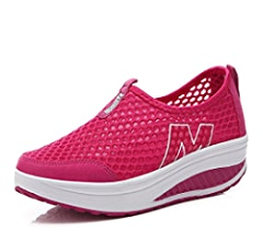 Amazon.com: Height Increasing Sneakers Shoes Womens Shoes Sports Walking Shoes for Women Swing Shoes Breathable Wedge Jogging,BLACK,5: Sports & Outdoors