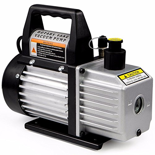 XtremepowerUS Premium 4CFM Air Vacuum Pump HVAC A/C Refrigeration Kit AC Manifold Gauge Case Set w/Leak Detector and Carrying Tote Bag by XtremepowerUS (Image #5)