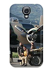 Hot VxsxiOZ7432TzZNK Case Cover Protector For Galaxy S4- Aircraft