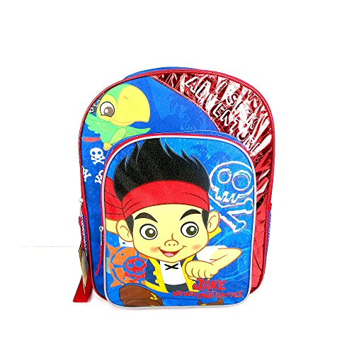 Jake and The Never Land Pirates Backpack - Blue by -