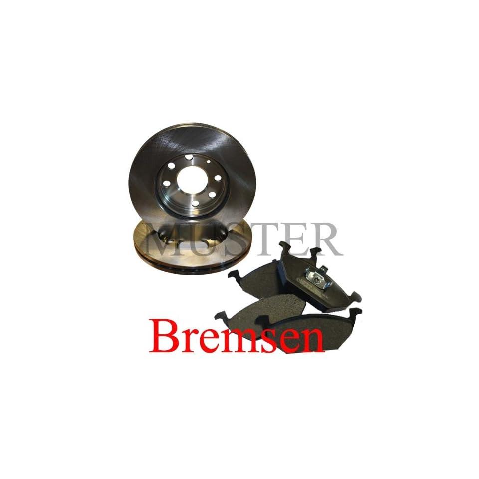 2 Bremsscheiben + 4 Bremsbeläge hinten Mercedes C Klasse W203 CLK SLK C 180 200 220 230 320 350 C180 C200 C220 C230 C320 C350 Auto