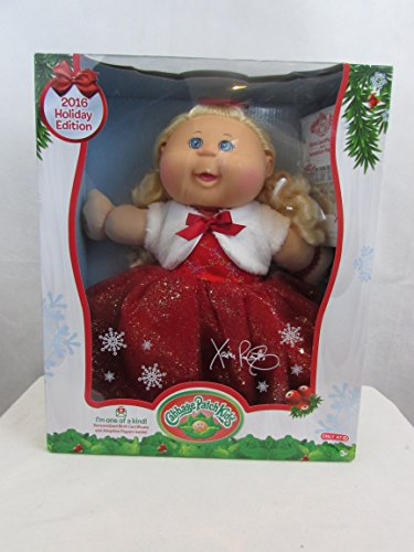 2016-Cabbage-Patch-Kids-Holiday-Edition-Target-Exclusive-Blonde-Hair-Blue-Eyes-Red-Dress