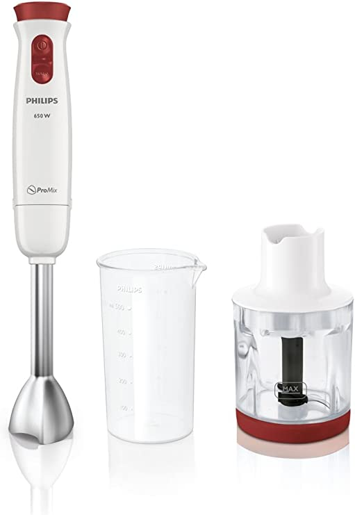 Philips Daily Collection Batidora de mano - Licuadora (Acero ...