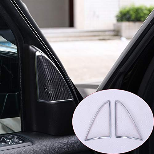 Land Rover Styling - for Land Rover Discovery 4 LR4 2009-2016 Car-Styling ABS Chrome Audio Speaker Frame Trim Auto Accessories 2pcs