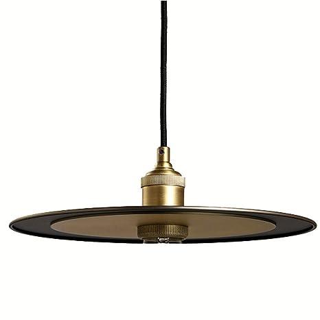 American Metal Industrial UFO comedor techo luces Loft ...