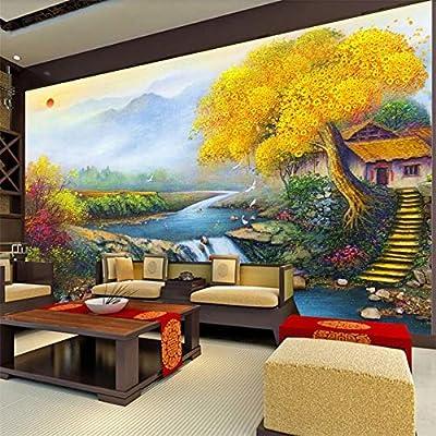 Tianxinbz Custom Wallpaper 3d Photo Murals All The Way Lucky