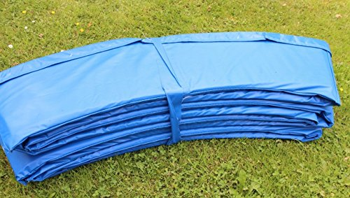 Free ACM GLOBAL Trampoline Accessories Safety Frame Pad Blue