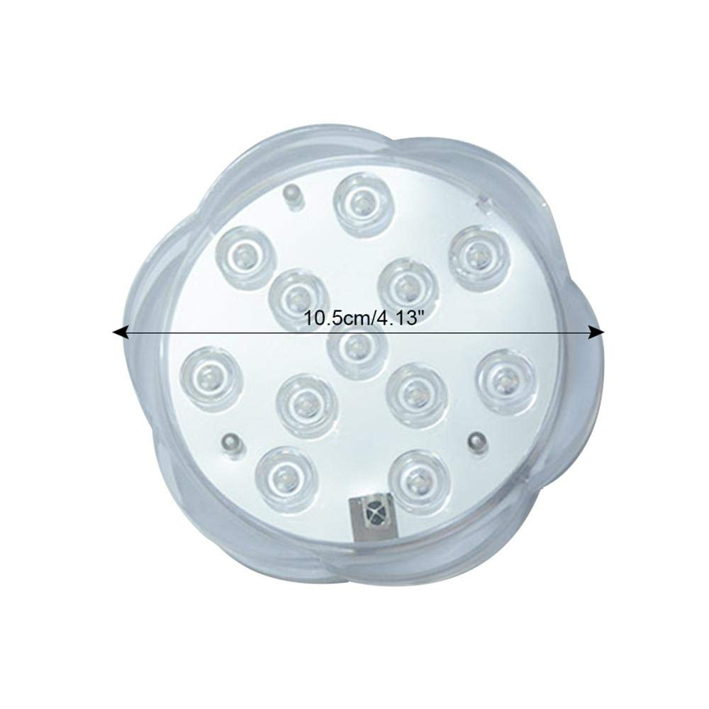 Amazon.com: AOLVO Luces LED sumergibles, luces submarinas ...
