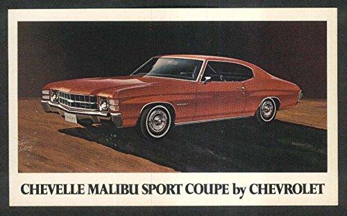 1971 Chevrolet Chevelle Malibu Sport Coupe -