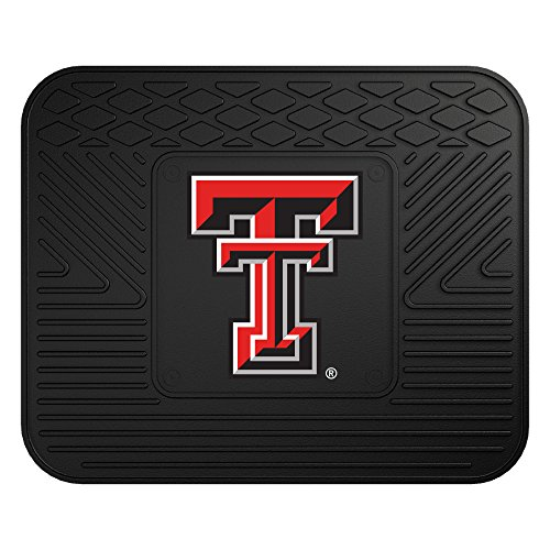 Texas Tech Rug - FANMATS NCAA Texas Tech University Red Raiders Vinyl Utility Mat