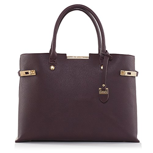 LaBante London 'Windsor' Vegan Leather Laptop Handbag for Women by LABANTE