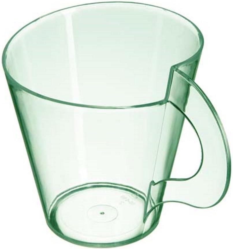 Starplast Espresso Cups, Case of 150, Transparent Green