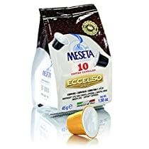 Meseta - 100 cialde capsule compatibili Nespresso miscela 100% Arabica