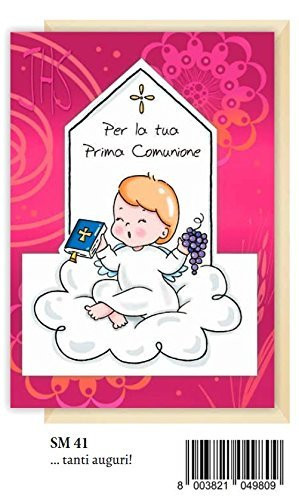 Marpimar Tarjeta Felicitación prima Comunión Baby Angel ...