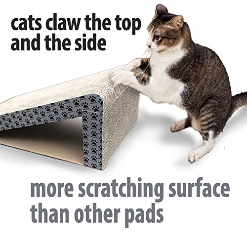 iPrimio-Cat-Scratcher-Ramp-Foldable-for-Travel-and-Easy-Storage-Great-for-Cats-Playing-Over-Under-and-Scratching-Patent-Pending-Design